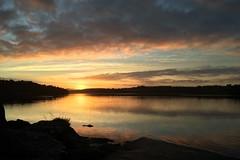 Hålandsvatnet sunrise