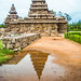 Nature's Perspective of Shore Temple, Mahabalipuram