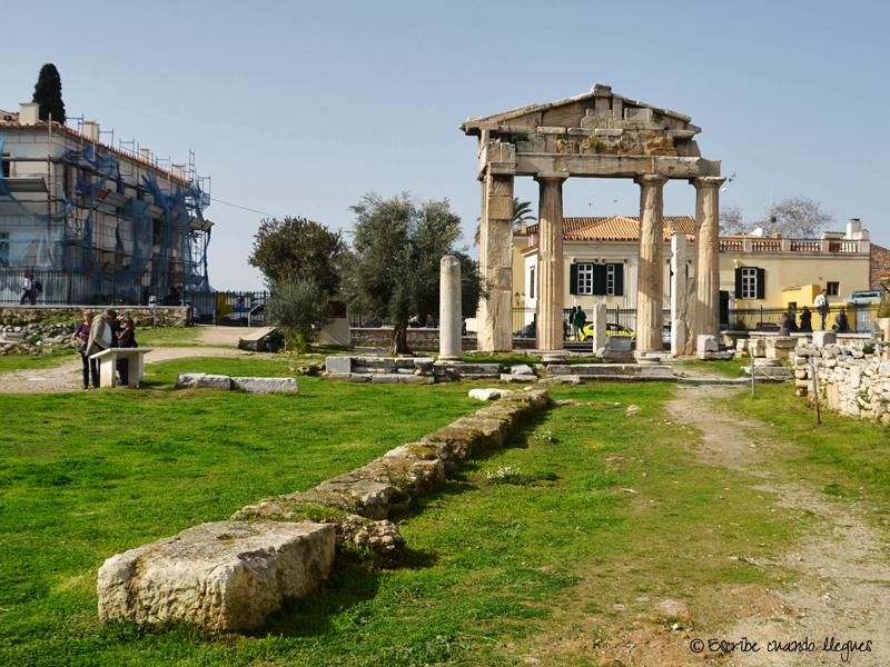 Puerta de Atenea Arquegetis
