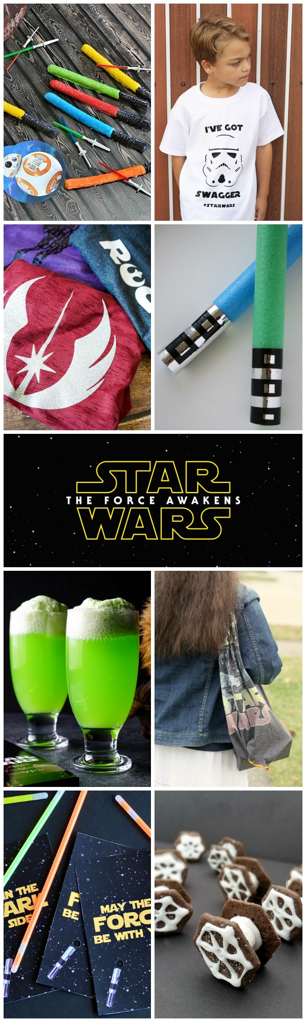 Star Wars - The Force Awakens {recipes and crafts}