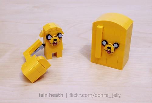 Adventure Time custom: Shape-shifted Jake