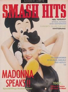 Smash Hits, December 30, 1987