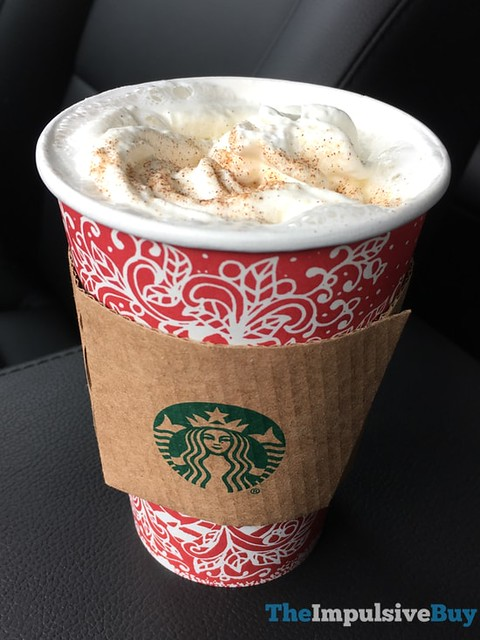 Hot Chocolate Snickerdoodle Starbucks