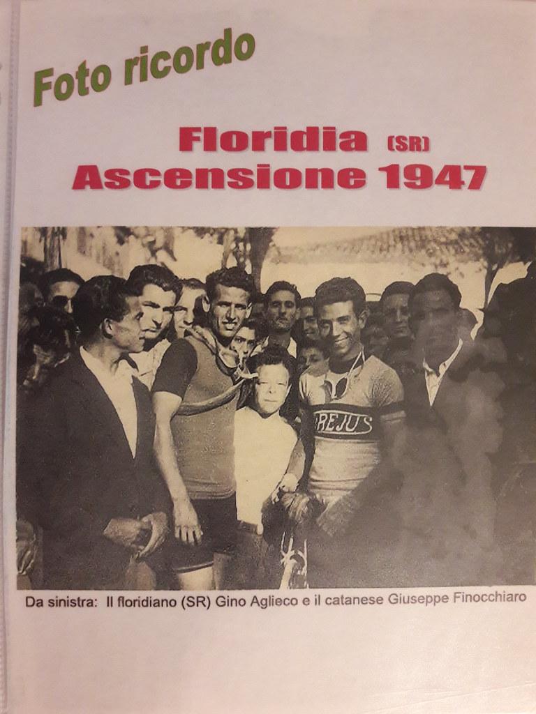 Floridia Ascensione 1947 - Aglieco con il catanese Giuseppe Finocchiaro