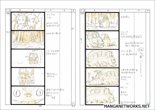 32965953012 6ae1ec8460 o 16 Storyboards của Studio Ghibli sẽ khiến bạn muốn xem lại Movie ngay lập tức !!
