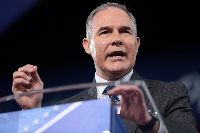 Leftist Knives Are Out for Scott Pruitt