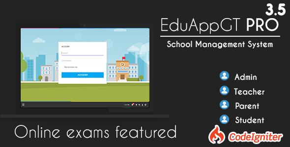 EduAppGT Pro v3.5 - School Management System