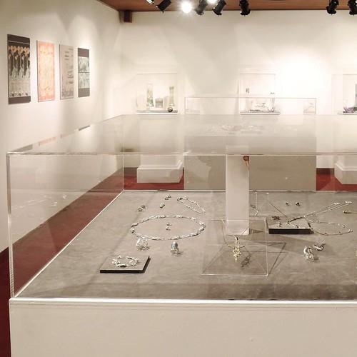 作品とともに、そのインスピレーションの源が分かる作品展。