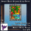 [ free bird ] LE Sunset Beach Stained Glass MM Board Ad