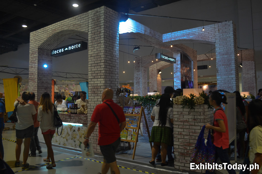 Ilocos Norte Trade Show Booth Display