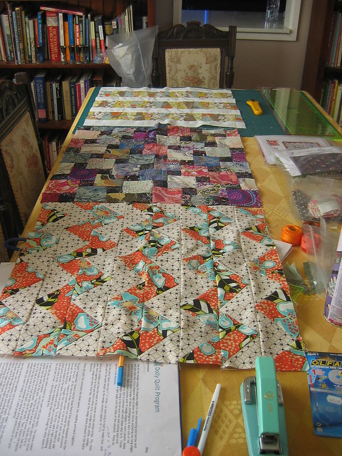 Dolly quilts assembly