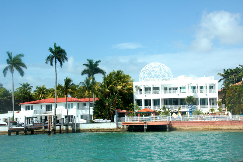Homes of Carmen Electra and Ricky Martin, Hibiscus Island, Miami Beach