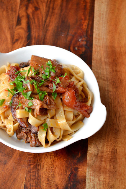 Braised Lamb Neck Ragu Recipe