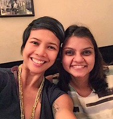 Happy happy birthday to this very special woman of substance. Love you, @sbtewari. The world is better because you are in it. #Saturday #singapore #love