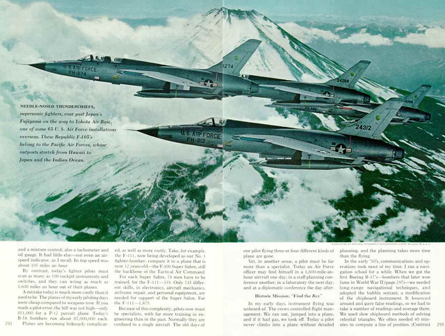 NATIONAL GEOGRAPHIC September 1965 (2) - U.S. Air Force: Power for Peace
