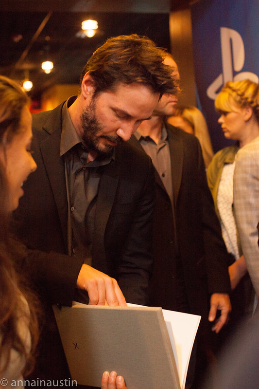 Keanu Reeves, John Wick Red Carpet, Fantastic Fest 2014 Austin, Texas 2014--11.jpg