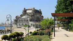 The Constanta Casino in Constanta Romania