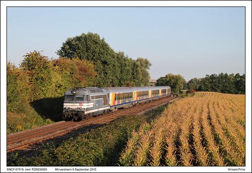 SNCF 67519 - Minversheim - TER830905 (09-09-2015)