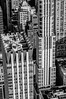 New York City Manhattan midtown aerial panorama view with skyscrapers by DigiDreamGrafix.com