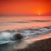 sea, dawn, stone by czdistagon.com