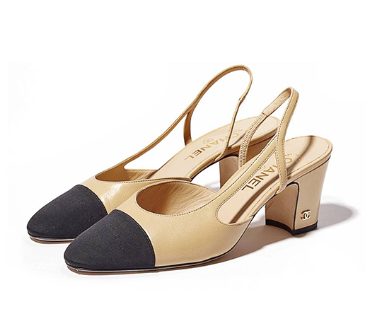 34055d4268e Mizhattan - Sensible living with style  Fall s Must-Have Shoes  Chanel Two-Tone  Slingbacks