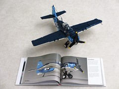 The art of LEGO scale modeling -my FM-2 Wildcat