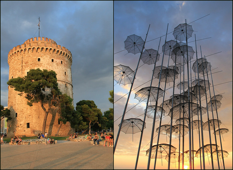 Sunset, Thessaloniki