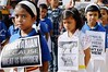 Ranchi: School children take out a march to save Animals on the World Animal Day by legend_news
