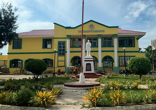 The newly-rehabilitated Madridejos Municipal Hall - July 2015