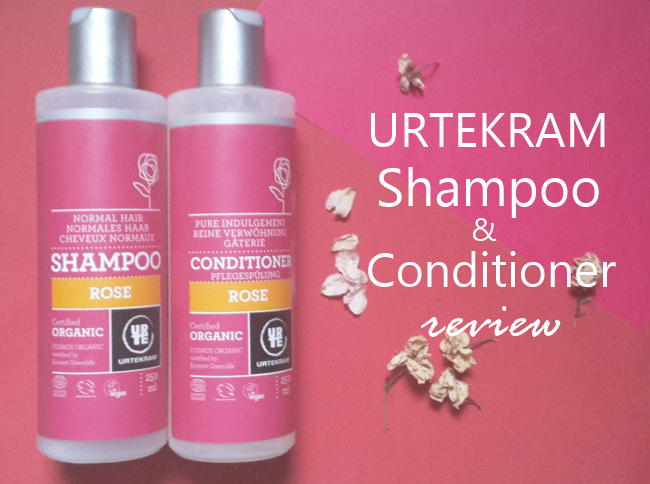 Urtekram Rose Shampoo and Conditioner Review