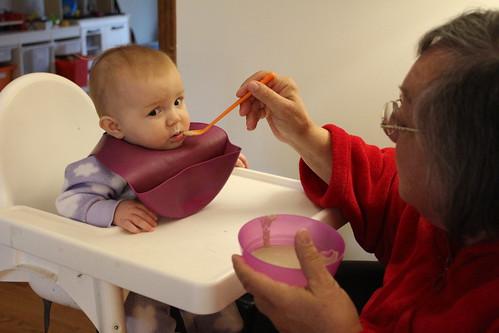 Nana Feeding Josephine