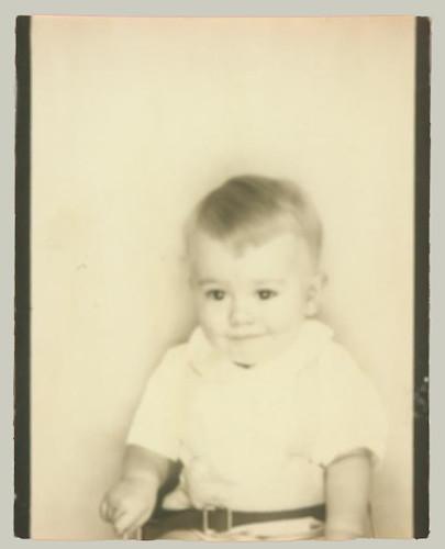 Photobooth little boy
