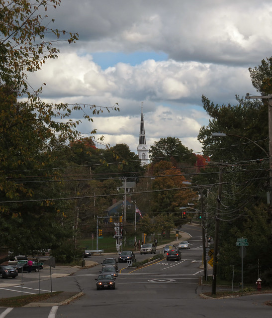 Tall Spire Church POV Prospect St; Wakefield, MA (2015)