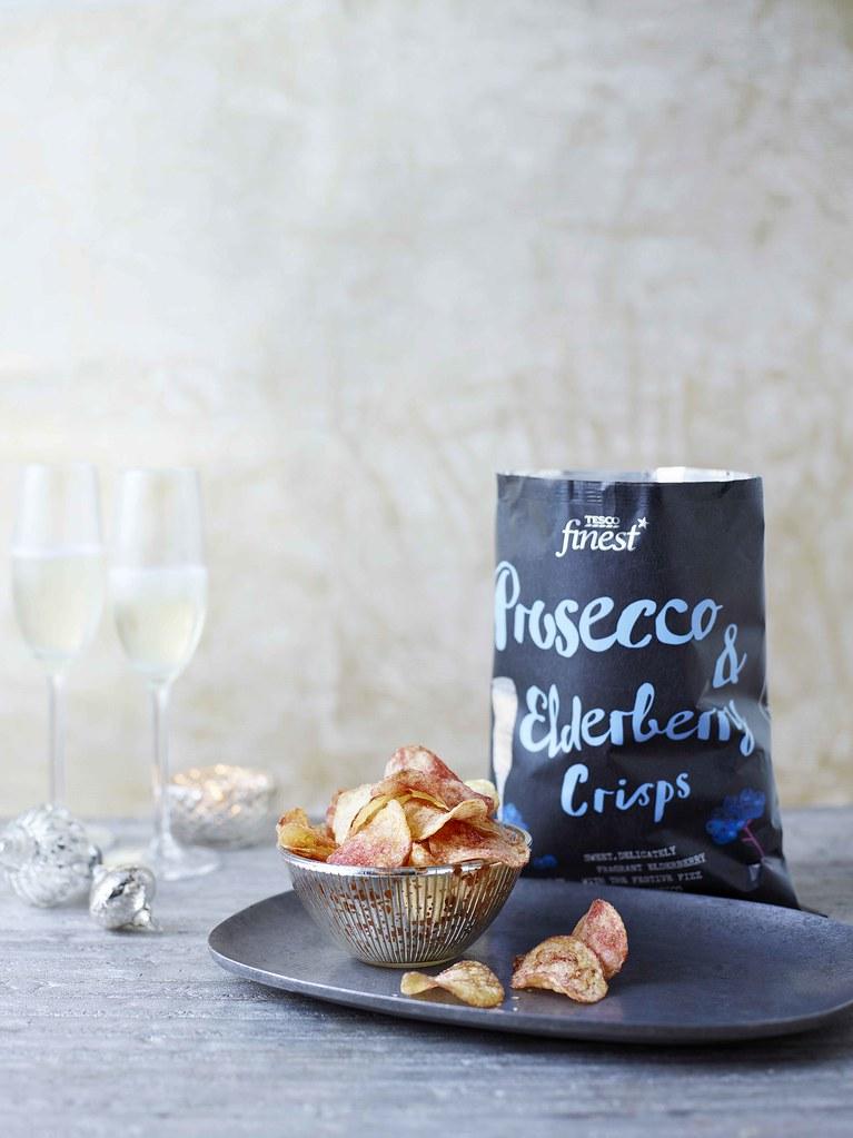 Prosecco crisps