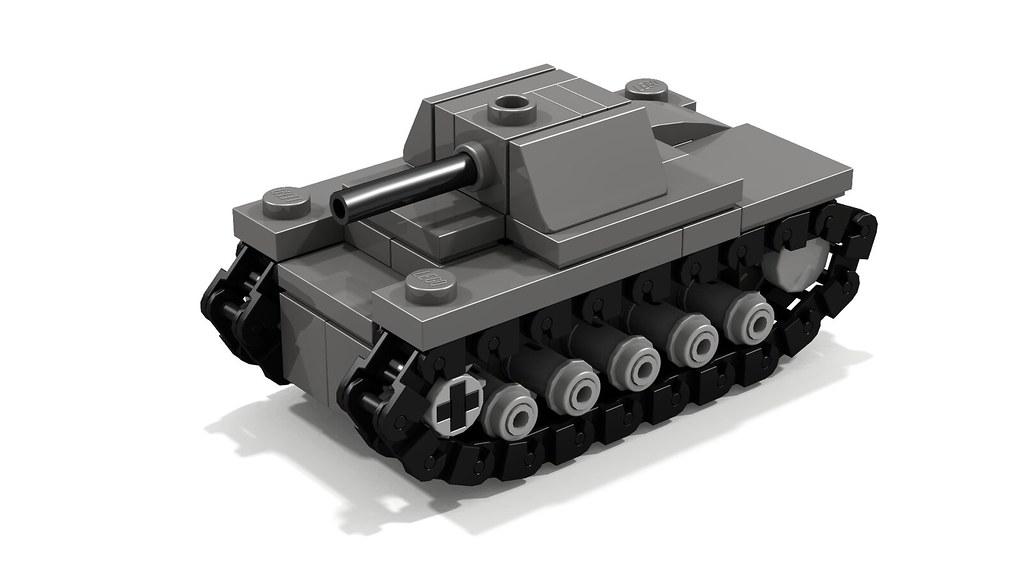 Panzer II mini tank