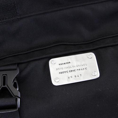 RIDE BAG / MESSENGER PRO / BLACK / No.687