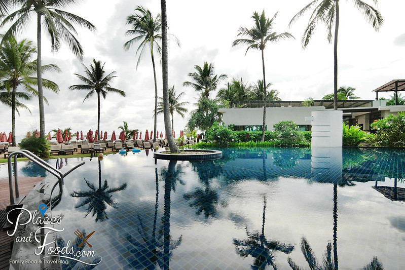 ramada khao lak pool reflection