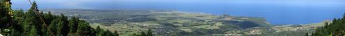 Panorama vom Pico Alto (586m.ü.M.) nach West-Nordwest