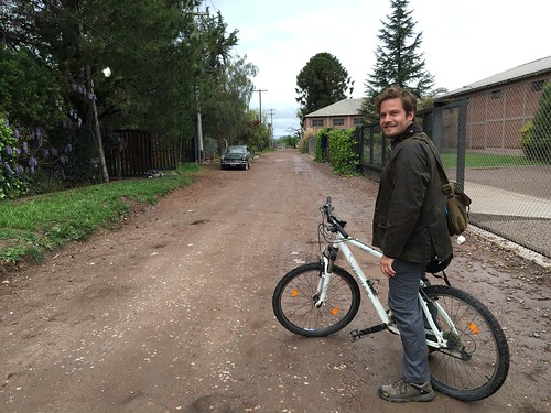 Biking in Mendoza...
