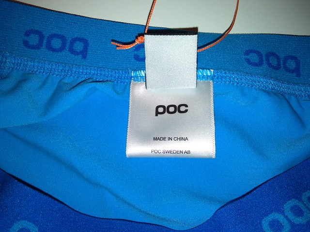 Poc Chamois Underwear Tungsten Blue
