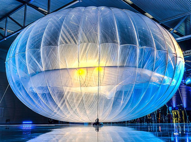 Photo:Project Loon balloon By:douglas_coldwell