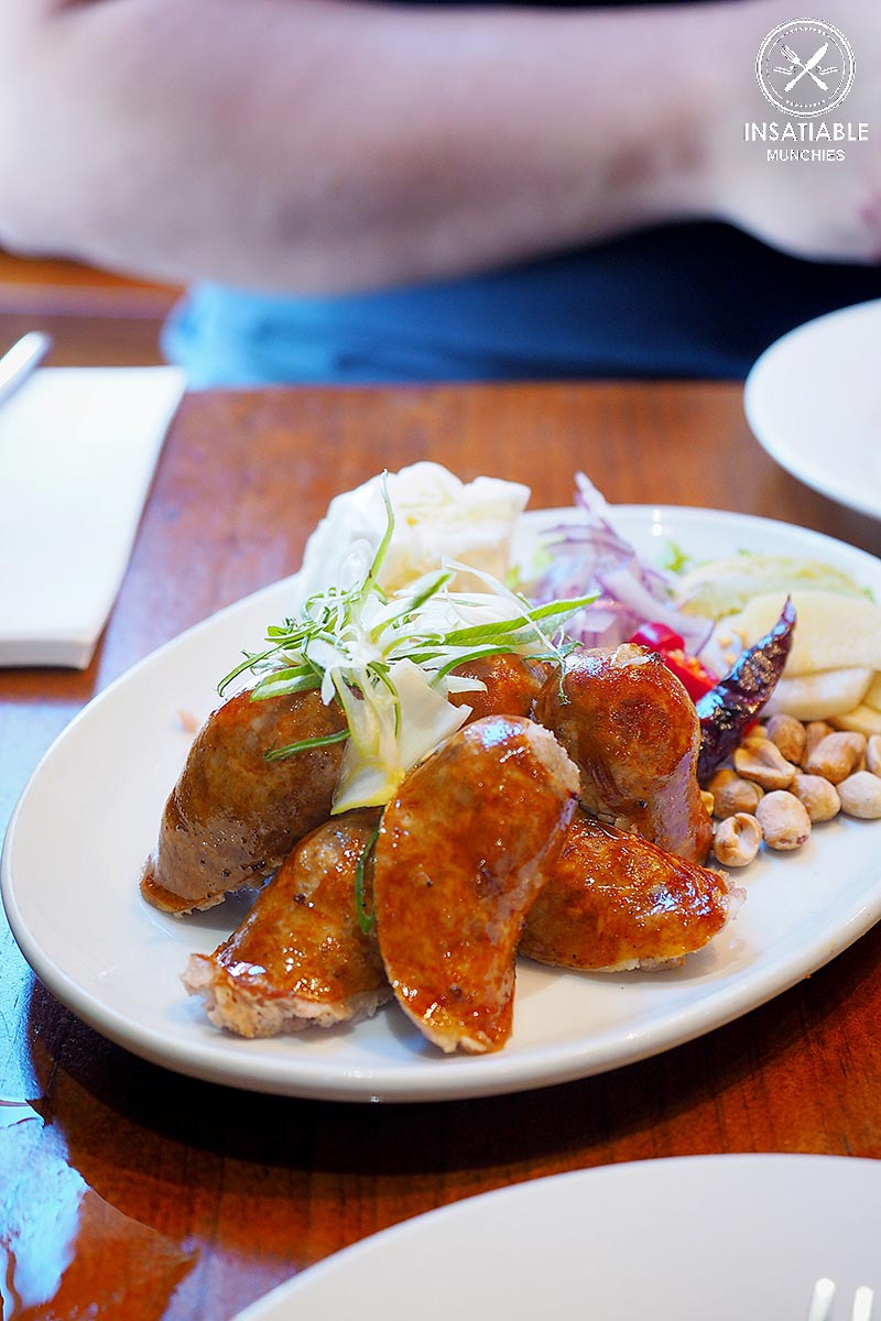 Eastern Thai Sausage ($11.90). Home Thai, Sydney: Sydney Food Blog Review