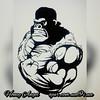 Вдохновившись одеждой для бодибилдеров, начинаю работу над новыми изделиями. Грядет год Обезьянки, а значит, горилла будет очень актуальна. Само изображение очень мотивирует. Всем, кто любит спорт, посвящается!   По всем вопросам пишите в личку или ajur.c