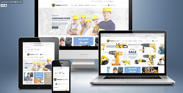 456 Industry v1.4.5 - Repair Tools Shop & Construction / Building / Renovation WP Theme