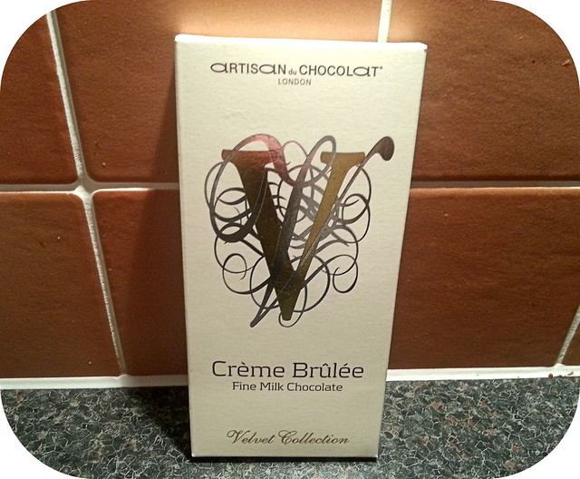 Artisan du Chocolat Creme Brulee Milk Chocolate Bar
