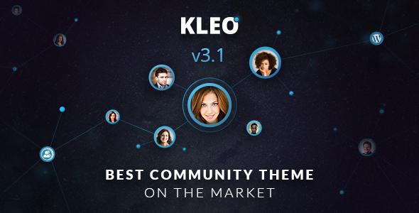 ThemeForest KLEO v3.1.1 - Next level WordPress Theme