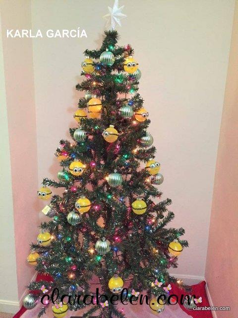 Arbol de Navidad tematico de los Minions