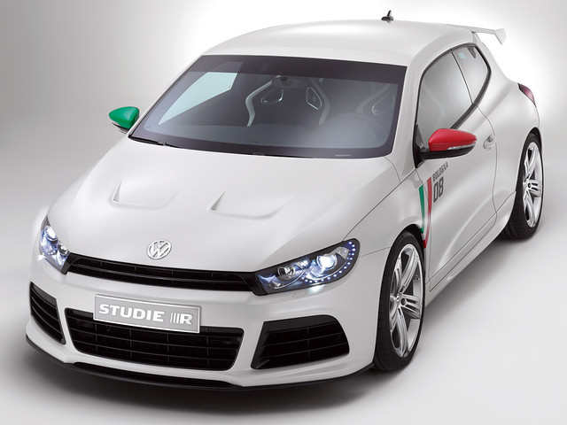 Volkswagen Scirocco Studie R Concept. 2008 год
