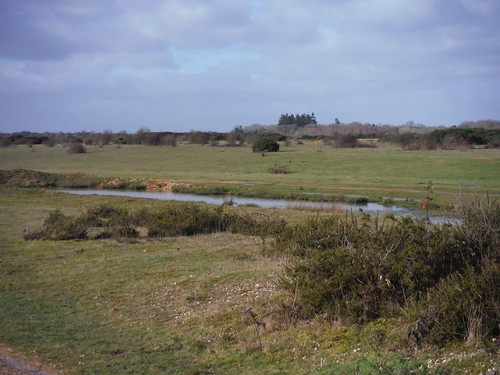 Greenham Common, easterly end