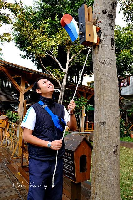 老樹根魔法木工坊景觀遊具區